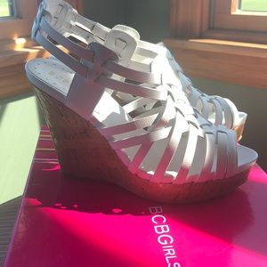 Wedge BCBG heels
